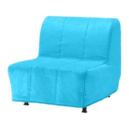 чехол на кресло кровать икеа ликселе цвет голубой